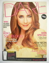 Dare magazine - Lisa Snowdon cover (September/October 2009)