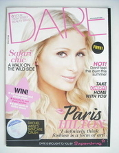 <!--2010-07-->Dare magazine - Paris Hilton cover (July/August 2010)