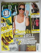<!--2009-03-16-->Grazia magazine - Cheryl Cole cover (16 March 2009)