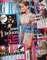 Grazia magazine - Emma Watson cover (20 July 2009)