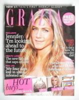 <!--2005-02-14-->Grazia magazine - Jennifer Aniston cover (14 February 2005)
