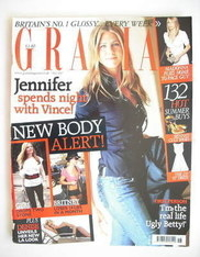 Grazia magazine - Jennifer Aniston cover (7 May 2007)
