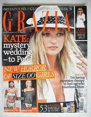 Grazia magazine - Kate Moss cover (28 August 2006)