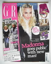 Grazia magazine - Madonna cover (8 December 2008)