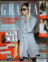 <!--2006-12-11-->Grazia magazine - Victoria Beckham cover (11 December 2006