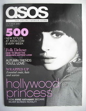 asos magazine - October 2008 - Anne Hathaway cover