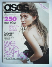 <!--2008-09-->asos magazine - September 2008 - Ashley Olsen cover