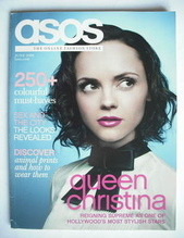 asos magazine - June 2008 - Christina Ricci cover