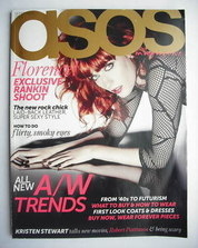 asos magazine - September 2009 - Florence Welch cover