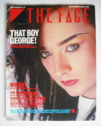<!--1982-11-->The Face magazine - Boy George cover (November 1982 - Issue 3
