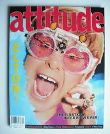 <!--2001-12-->Attitude magazine - Elton John cover (December 2001)