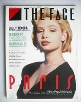 <!--1986-07-->The Face magazine - Marthe Lagache cover (July 1986 - Issue 7