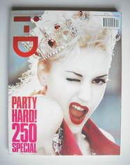 i-D magazine - Gwen Stefani cover (December 2004/January 2005)