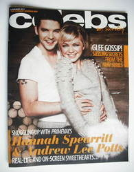 <!--2011-01-09-->Celebs magazine - Hannah Spearritt and Andrew Lee Potts co