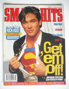 <!--1994-02-02-->Smash Hits magazine - Dean Cain cover (2-15 February 1994)