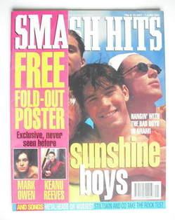 <!--1994-05-25-->Smash Hits magazine - Bad Boys Inc. cover (25 May - 7 June