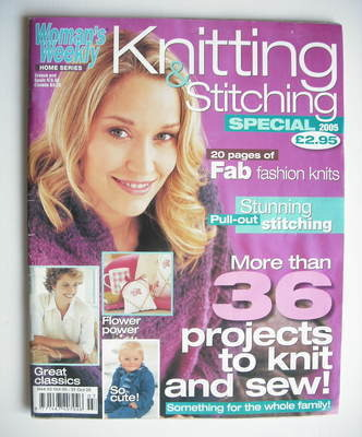 <!--2005-10-->Woman's Weekly magazine - Knitting and Stitching Special (Oct