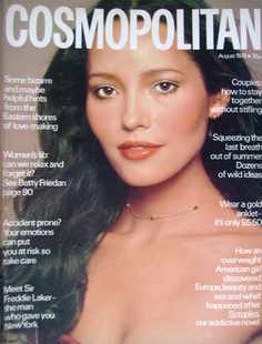 <!--1978-08-->Cosmopolitan magazine (August 1978 - Barbara Carrera cover)