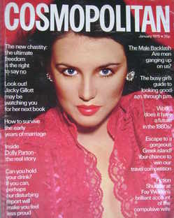 <!--1979-01-->Cosmopolitan magazine (January 1979 - Isabelle Adjani cover)