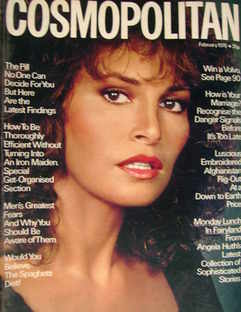 Cosmopolitan magazine (February 1978 - Raquel Welch cover)