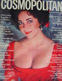 Cosmopolitan magazine (December 1976 - Elizabeth Taylor cover)