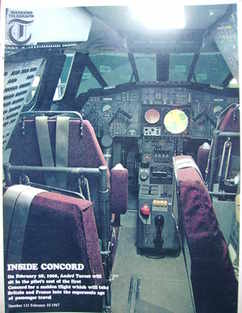 <!--1967-02-10-->Weekend Telegraph magazine - Concord's Cockpit cover (10 F