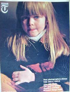 Weekend Telegraph magazine - Debbie Puttnam cover (22 March 1967)