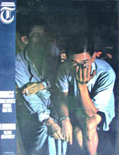 Weekend Telegraph magazine - Hong Kong's Futile Battle cover (27 August 1965)