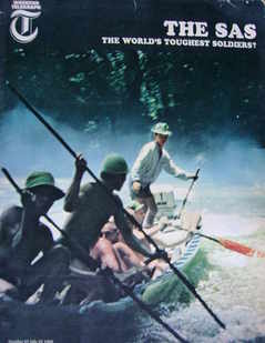 Weekend Telegraph magazine - The SAS cover (22 July 1966)