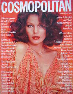 Cosmopolitan magazine (June 1976 - Lois Chiles cover)