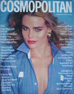 Cosmopolitan magazine (September 1976 - Margaux Hemingway cover)