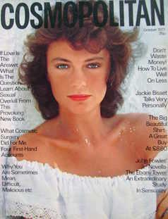 Cosmopolitan magazine (October 1977 - Jacqueline Bisset cover)