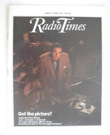 <!--1984-03-03-->Radio Times magazine - Peter Watson cover (3-9 March 1984)