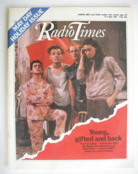 Radio Times magazine - The Young Ones cover (5-11 May 1984)