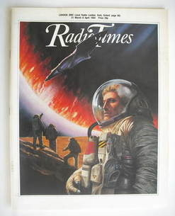 <!--1984-03-31-->Radio Times magazine - Space Force cover (31 March - 6 Apr