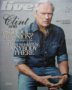 <!--2011-01-16-->Live magazine - Clint Eastwood cover (16 January 2011)