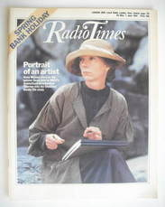 <!--1984-05-26-->Radio Times magazine - Anna Massey cover (26 May - 1 June
