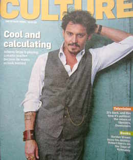 <!--2010-12-12-->Culture magazine - Johnny Depp cover (12 December 2010)