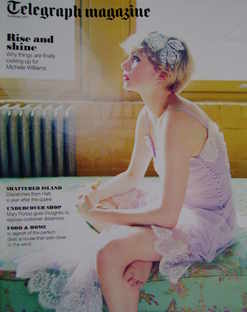 <!--2011-01-08-->Telegraph magazine - Michelle Williams cover (8 January 20