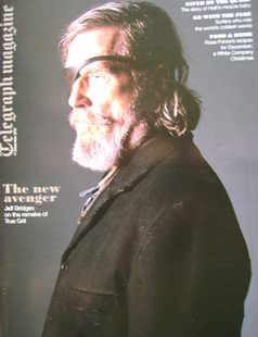<!--2010-12-11-->Telegraph magazine - Jeff Bridges cover (11 December 2010)