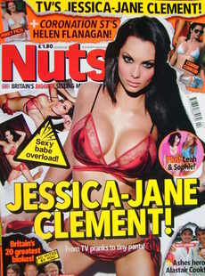 <!--2011-01-14-->Nuts magazine - Jessica-Jane Clement cover (14-20 January