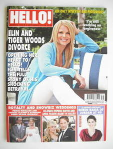 <!--2010-09-06-->Hello! magazine - Elin Nordegren cover (6 September 2010 -