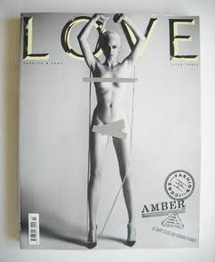 Love magazine - Issue 3 - Spring/Summer 2010 - Amber Valletta cover