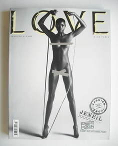 Love magazine - Issue 3 - Spring/Summer 2010 - Jeneil Williams cover