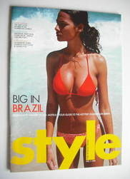 Style magazine - Big In Brazil cover (11 April 2004)