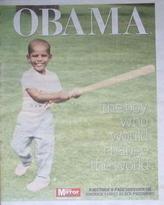 Daily Mirror newspaper supplement - OBAMA (6 November 2008)