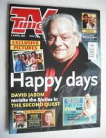 <!--2004-04-03-->TV Times magazine - David Jason cover (3-9 April 2004)