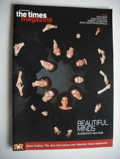 <!--2003-03-22-->The Times magazine - Beautiful Minds cover (22 March 2003)