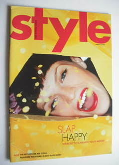 <!--2003-03-16-->Style magazine - Slap Happy cover (16 March 2003)