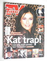 <!--2004-04-17-->TV Times magazine - Jessie Wallace cover (17-23 April 2004